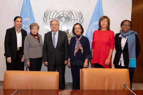 Secretary-General Meets Heads of UN Regional Commissions
