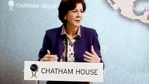 FEATURED ARTICLE – Ms. Rima Khalaf, Executive Secretary, ESCWA, Addresses Chatham House