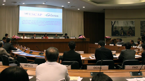 Asia-Pacific adopts five year plan of action for the application of space technology for disaster risk reduction and sustainable development