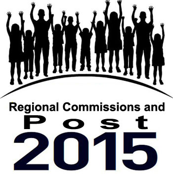 Regional Commissions and Post 2015