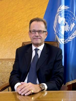 Acting Director-General of UNOG Michael Møller takes on functions of Acting Executive Secretary of UNECE