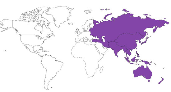 Think, that asian pacific american countries