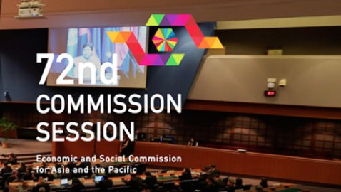 72nd Commission Session of ESCAP