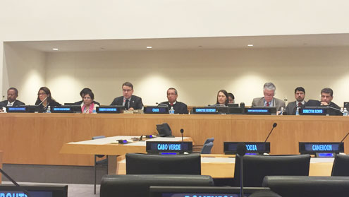 Regional Commissions' Dialogue with the Second Committee, 28 October 2016