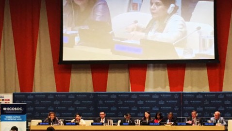 Regional Commissions highlight importance of policy integration at national level and regional connectivity to eradicate poverty in a presentation to ECOSOC Integration Segment
