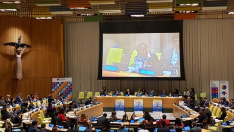 Head of ECA represents the Regional Commissions in ECOSOC Financing for Development Forum first interactive discussion
