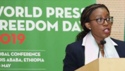 Press freedom essential for democracy and development in Africa, says Executive Secretary Vera Songwe