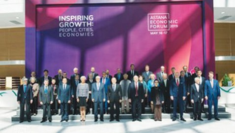 ESCAP Executive Secretary underscores economic integration, cooperation in visit to Kazakhstan