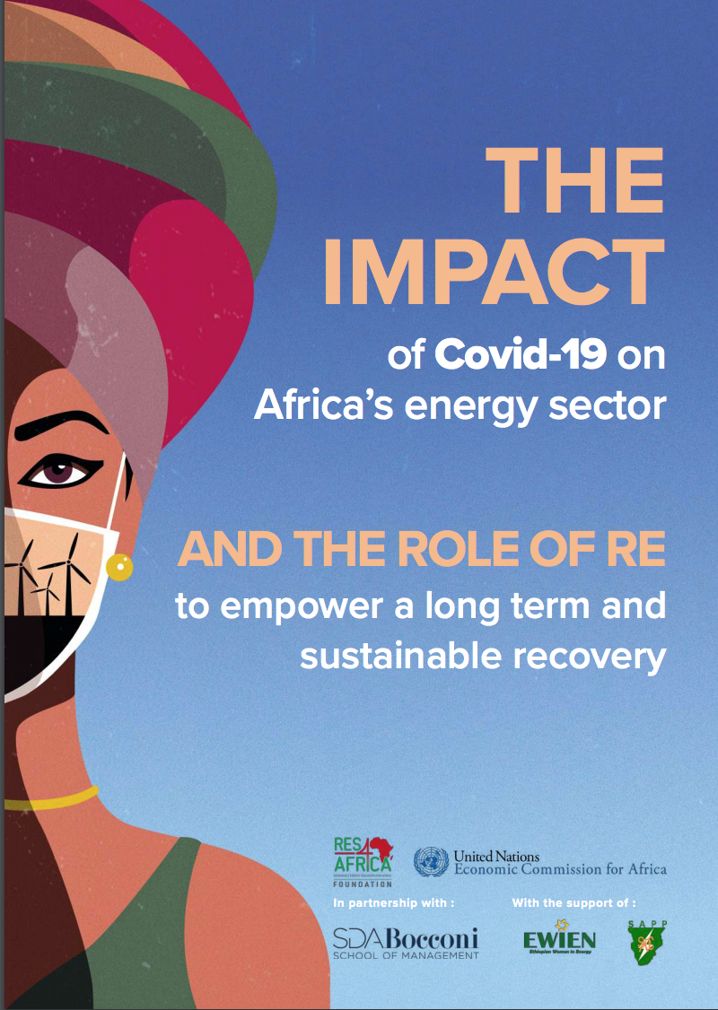 The Impact of Covid-19 on Africa's energy sector and the role of RE to empower a long term and sustainable recovery