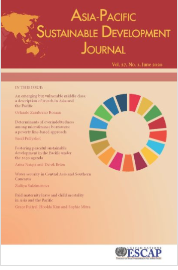 Asia-Pacific Sustainable Development Journal