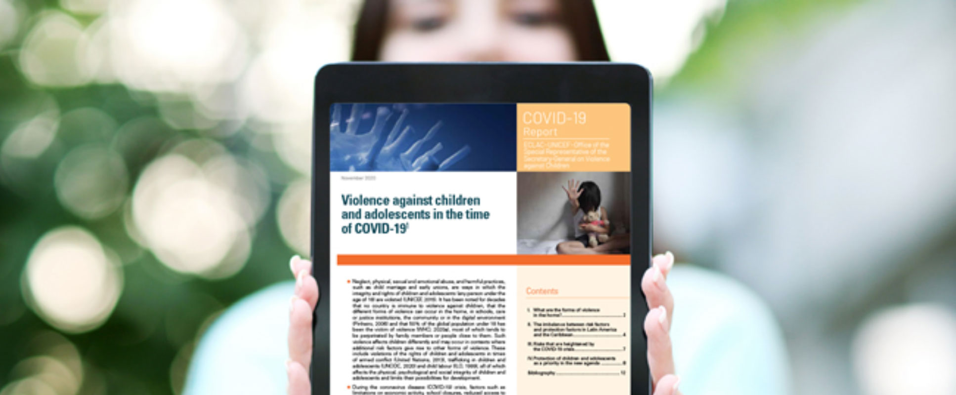 United Nations Warns about the Increased Risk of Violence in the Home against Children and Adolescents Amid COVID-19 and Issues Recommendations to Address It